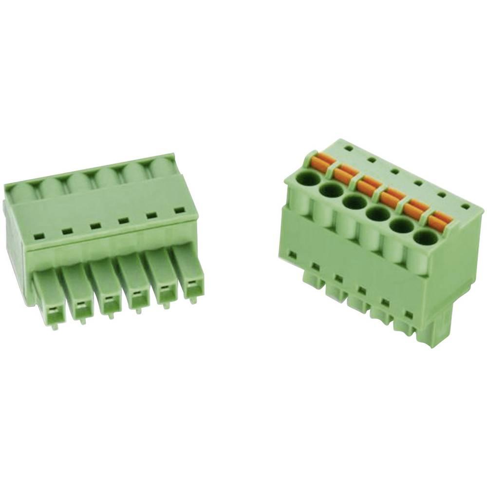 Tilslutningskabinet-kabel 368B (value.1361135) Samlet antal poler 11 Würth Elektronik 691368300011B Rastermål: 3.81 mm 1 stk
