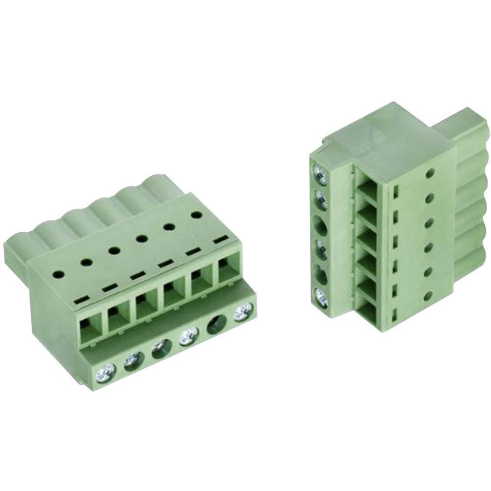 Tilslutningskabinet-kabel 373B (value.1361106) Samlet antal poler 5 Würth Elektronik 691373500005B Rastermål: 5.08 mm 1 stk
