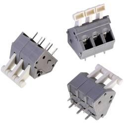 Fjederkraftsklemmeblok Würth Elektronik WR-TBL 4147 B 0.33 mm² Poltal 2 Grå, Hvid 1 stk