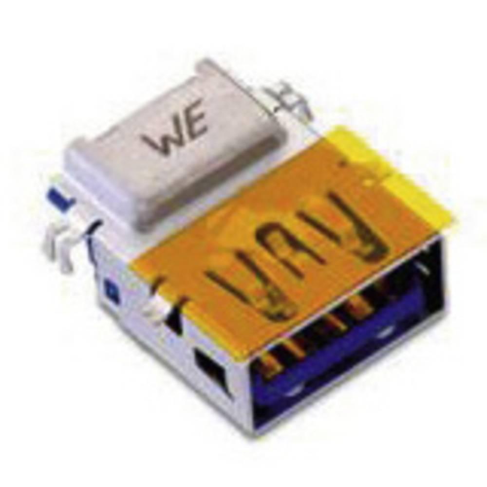 USB 3.0 , tipa A pokončen , invertiran z odmikom 1.75mm WR-COM vtičnica, vgraden horizontalen Würth Elektronik vsebuje: 1 kos