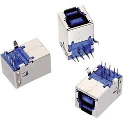 USB 3.0 , tipa B pokončen WR-COM vtičnica, vgraden, horizontalen Würth Elektronik vsebuje: 1 kos