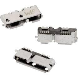 Micro USB 3.0 , tipa B SMD WR-COM vtičnica, vgradna, horizontalna Würth Elektronik vsebuje: 1 kos