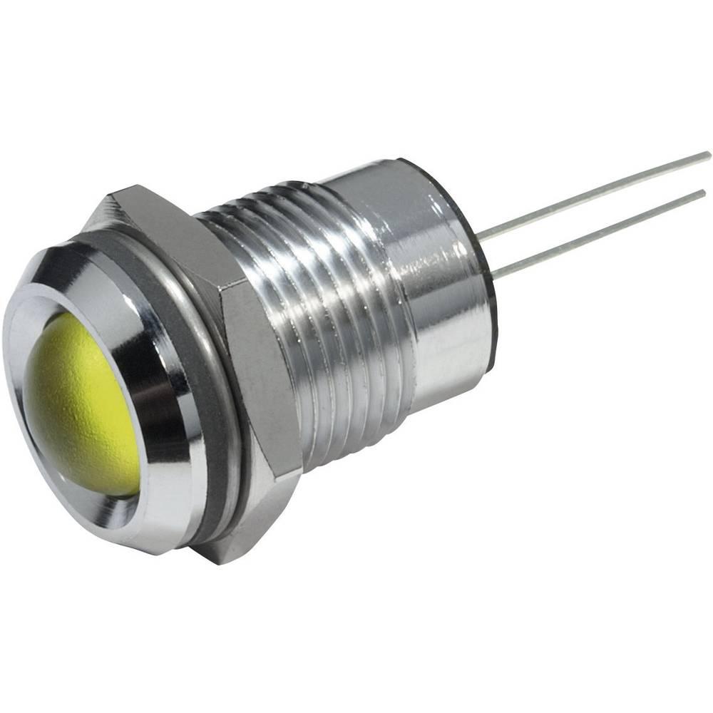 LED signalna lučka, rumena 12 V/DC CML 19220002