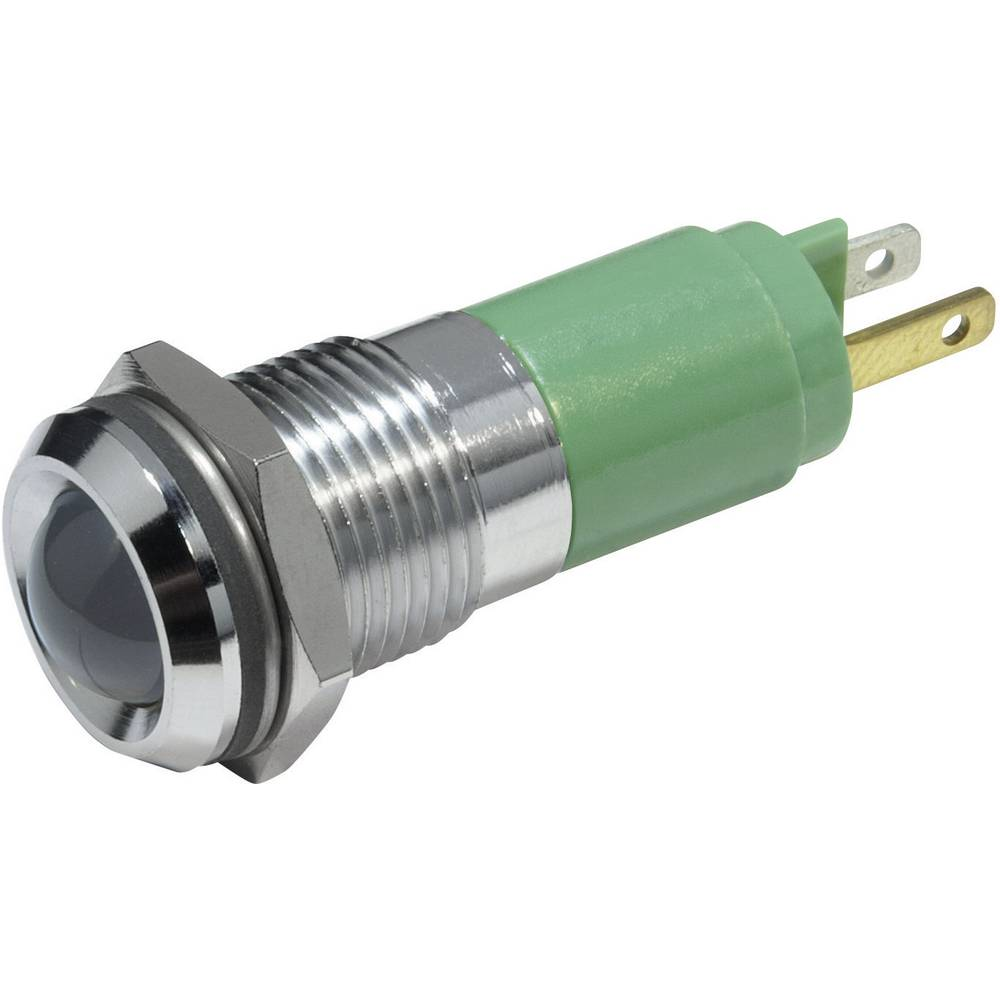 LED-signallampe CML 19350235 230 V/AC 3 mA Ultragrøn