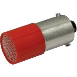 LED žarnica BA9s rdeča 110 V/DC, 110 V/AC 0.4 lm CML 18824120