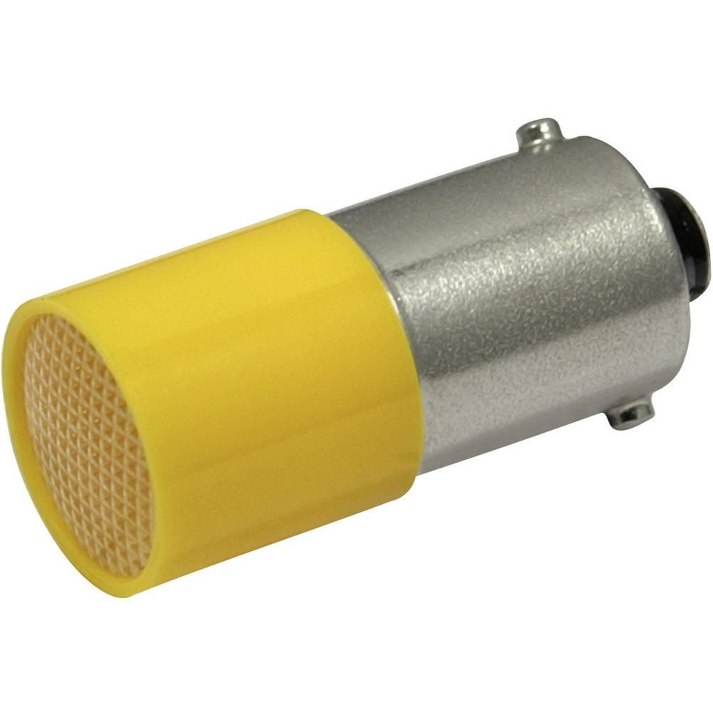 LED žarnica BA9s rumena 72 V/DC, 72 V/AC 0.35 lm CML 18824A32