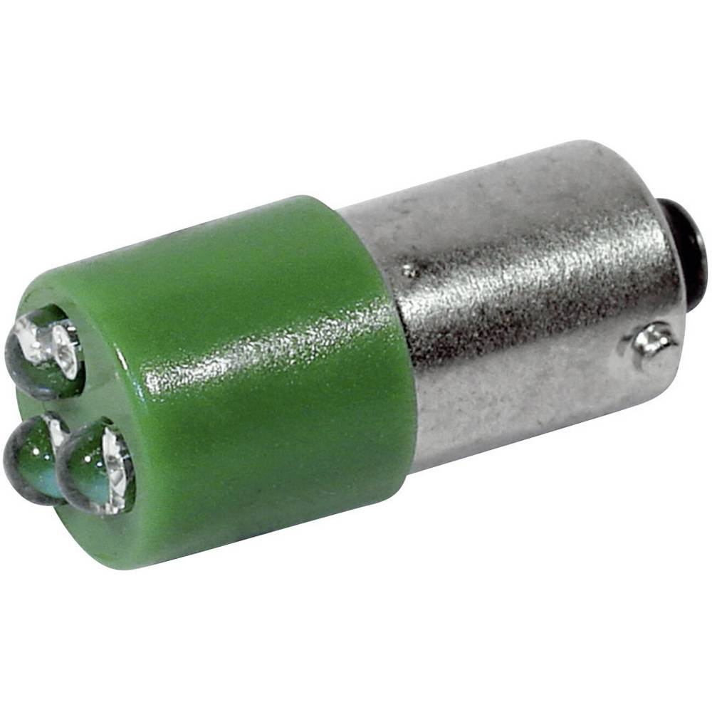 LED žarnica BA9s zelena 230 V/AC 450 mcd CML 18626231