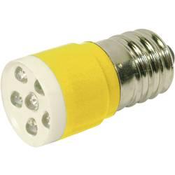 LED žarnica E14 rumena 24 V/DC, 24 V/AC 1050 mcd CML 18646352C