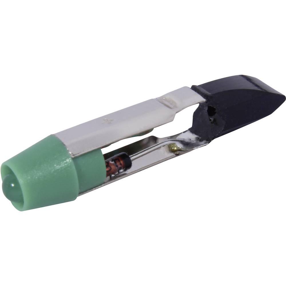 LED žarnica T5.5 zelena 24 V/DC, 24 V/AC 2100 mcd CML 1505135UG3