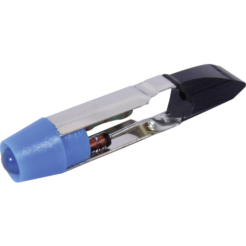 LED-Lampe (value.1317402) CML T5.5 24 V/DC, 24 V/AC 650 mcd Blå