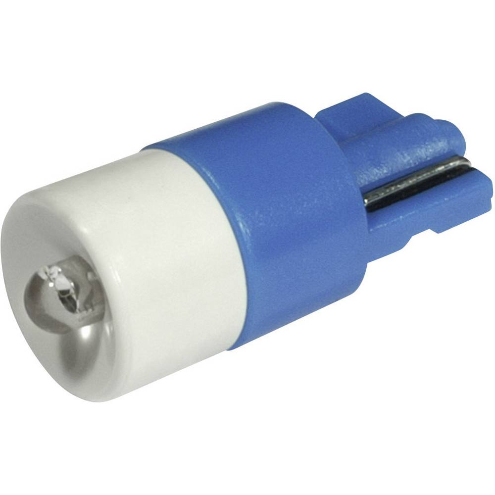 LED žarnica W2.1x9.5d modra 24 V/DC, 24 V/AC 650 mcd CML 1511B35B3