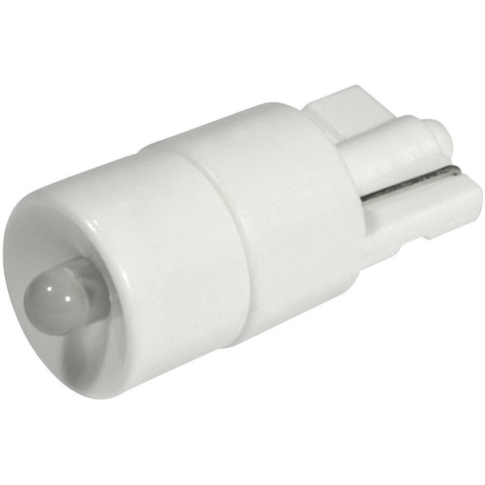 LED žarnica W2.1x9.5d topla bela 12 V/DC, 12 V/AC 1620 mcd CML 1511B25L3