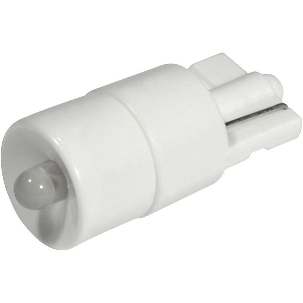 LED-diode CML W2,1x9,5d 24 V/DC, 24 V/AC 1500 mcd Kølig hvid