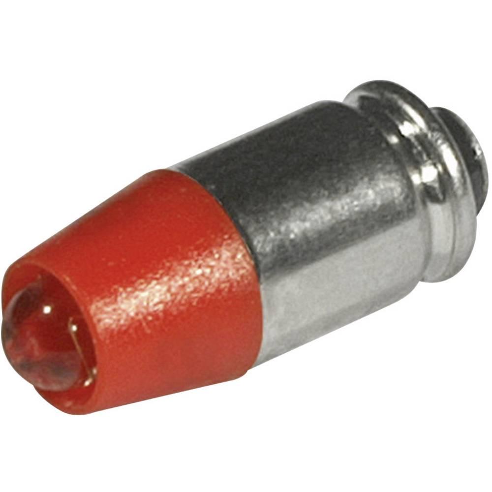 LED žarulja T1 3/4 MG crvena 24 V/DC, 24 V/AC 330 mcd CML 1512535UR3