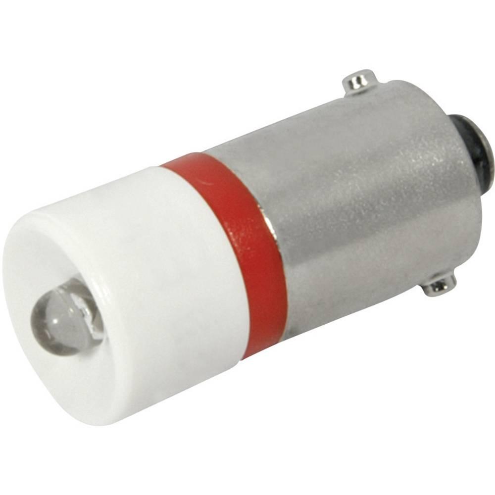 LED žarnica BA9s rdeča 230 V/AC 120 mcd CML 18606230