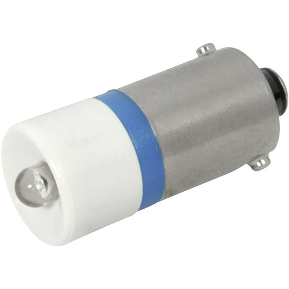 LED žarnica BA9s modra 230 V/AC 200 mcd CML 18606237