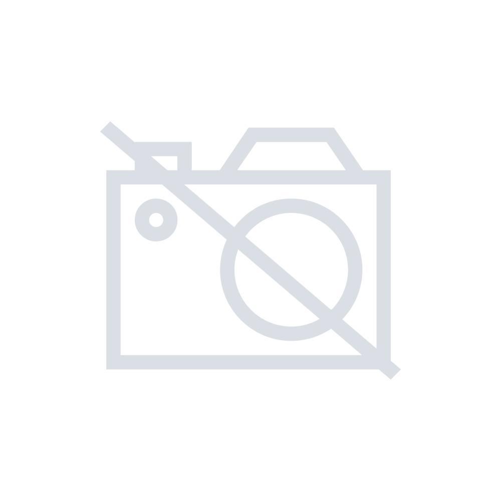 Koš za odpadke 50 l Hailo PofiLine Combi plus XL (premer x V) 330 mm x 920 mm črne barve, vklj. pepelnik 1 kos