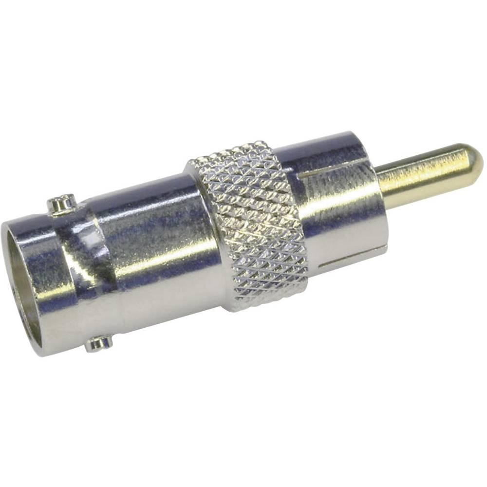 BNC-adapter BNC-Buchse (value.1390777) - Cinch-Stecker (value.1390916) Telegärtner J01008B0838 1 stk