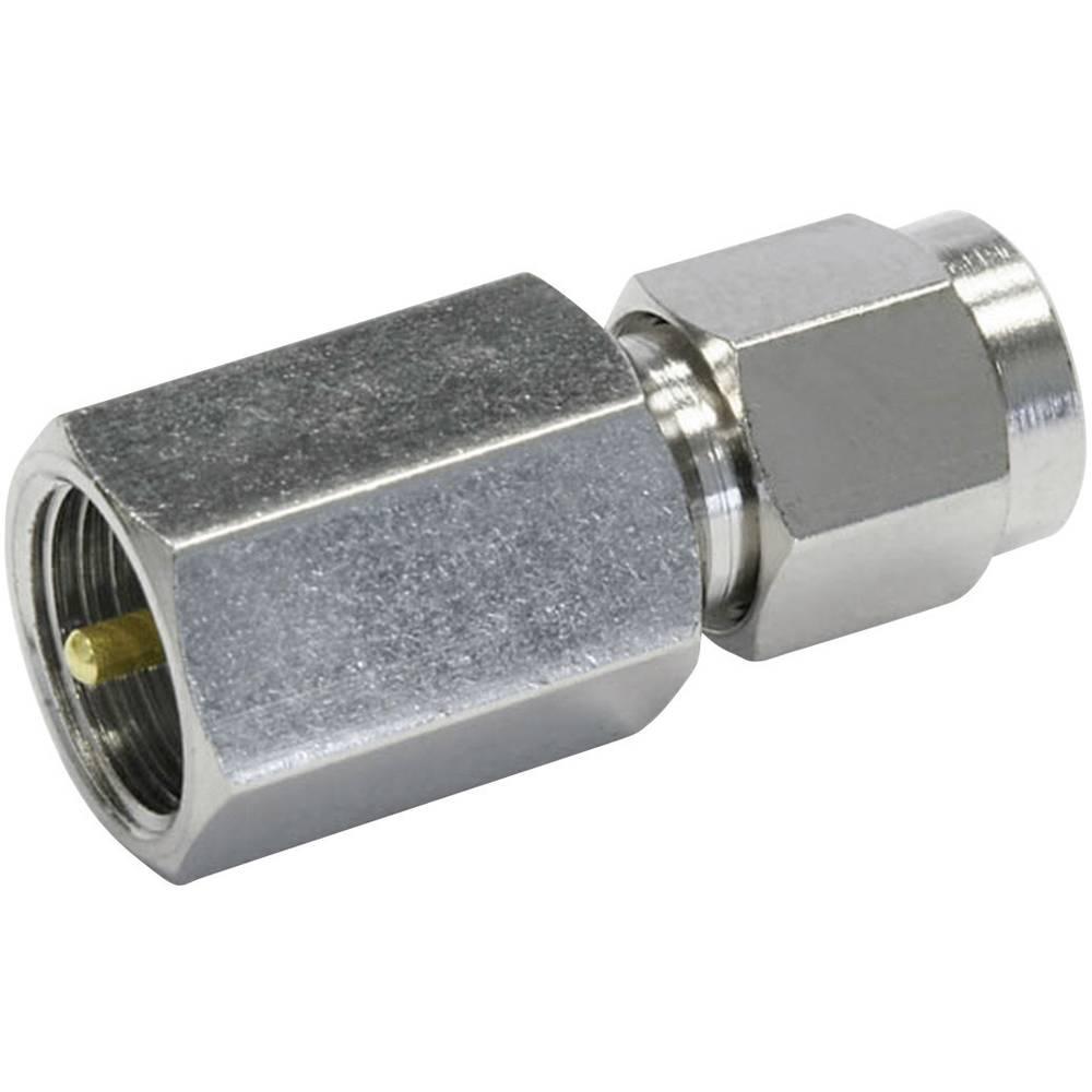 BNC-adapter FME-Stecker (value.1390708) - SMA-Stecker (value.1390692) Telegärtner 1 stk