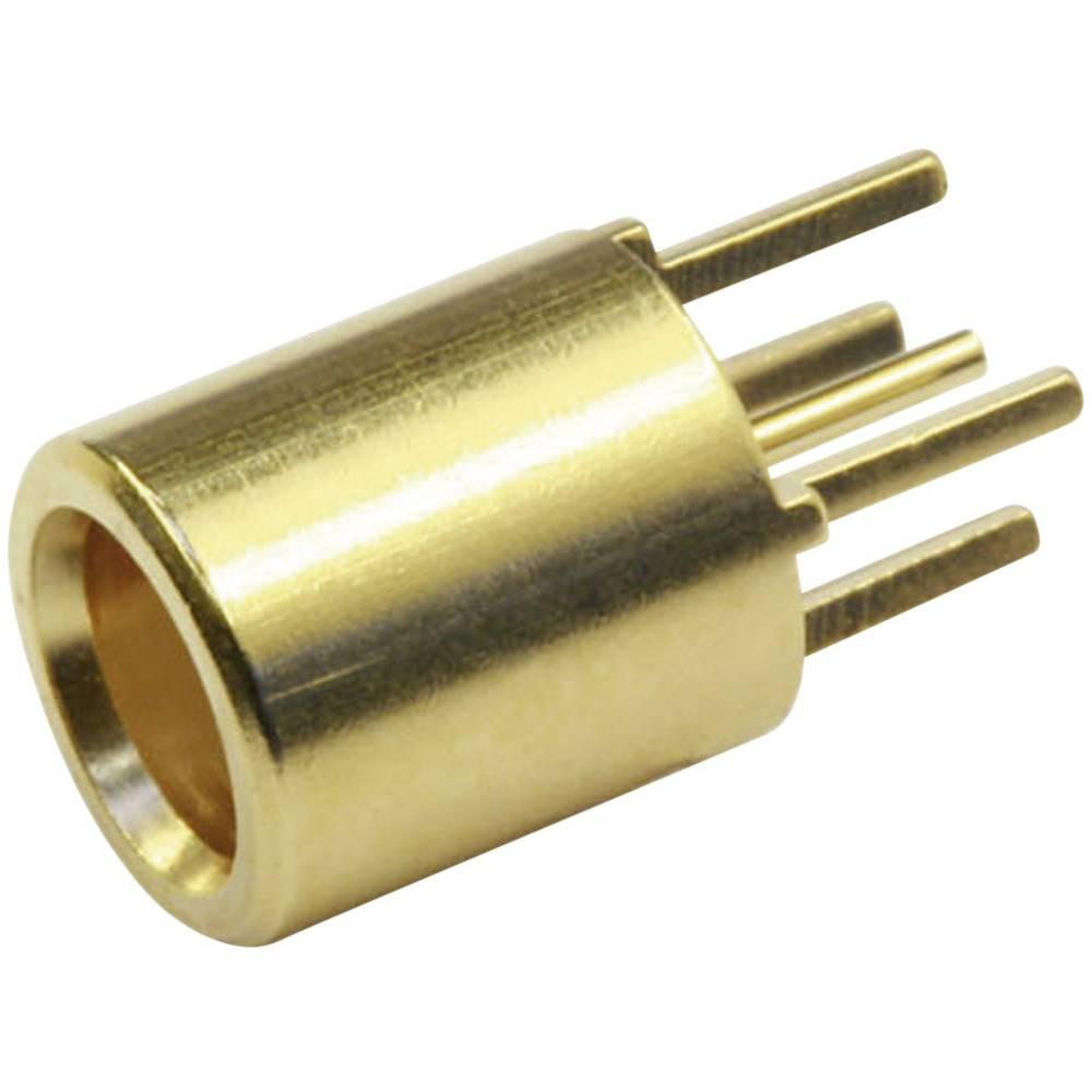 MCX-stikforbindelse Telegärtner J01271A0141 50 Ohm Tilslutning, indbygning lodret 1 stk