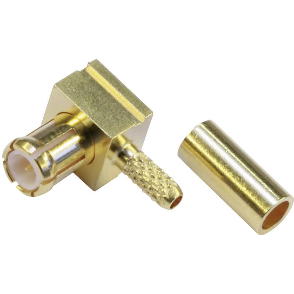 MCX-stikforbindelse Telegärtner J01270A0211 50 Ohm Stik, vinklet 1 stk