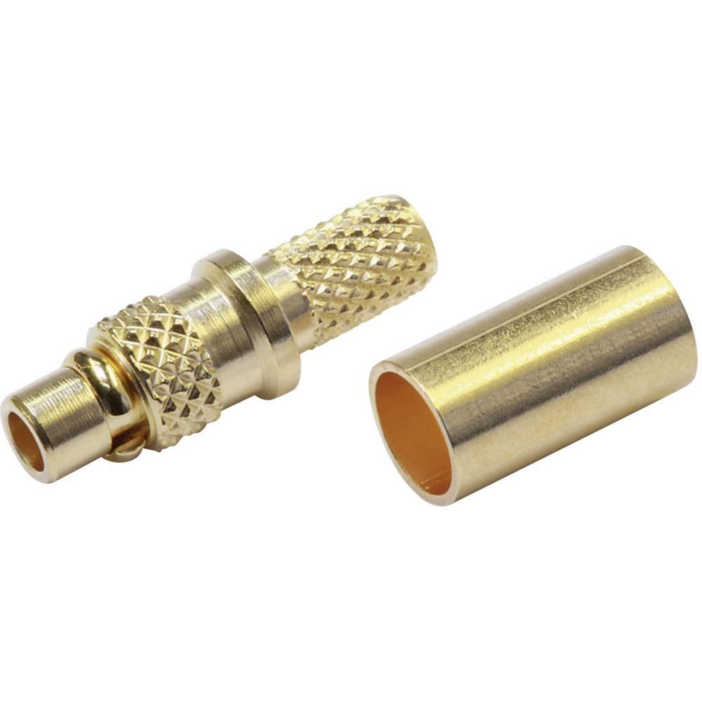 MMCX-stikforbindelse Telegärtner J01340A0141 50 Ohm Stik, lige 1 stk