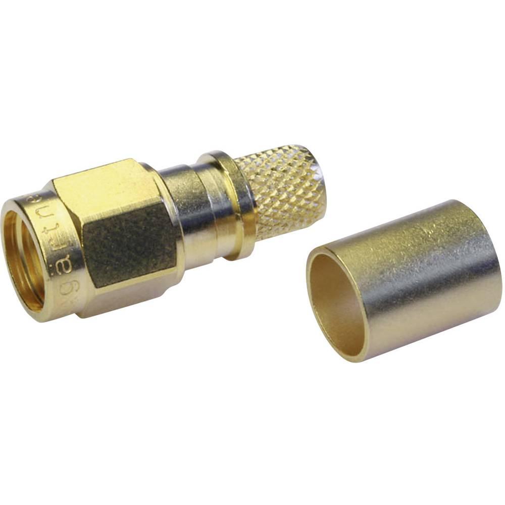 SMA-stikforbindelse Telegärtner J01150A0611 50 Ohm Stik, lige 1 stk