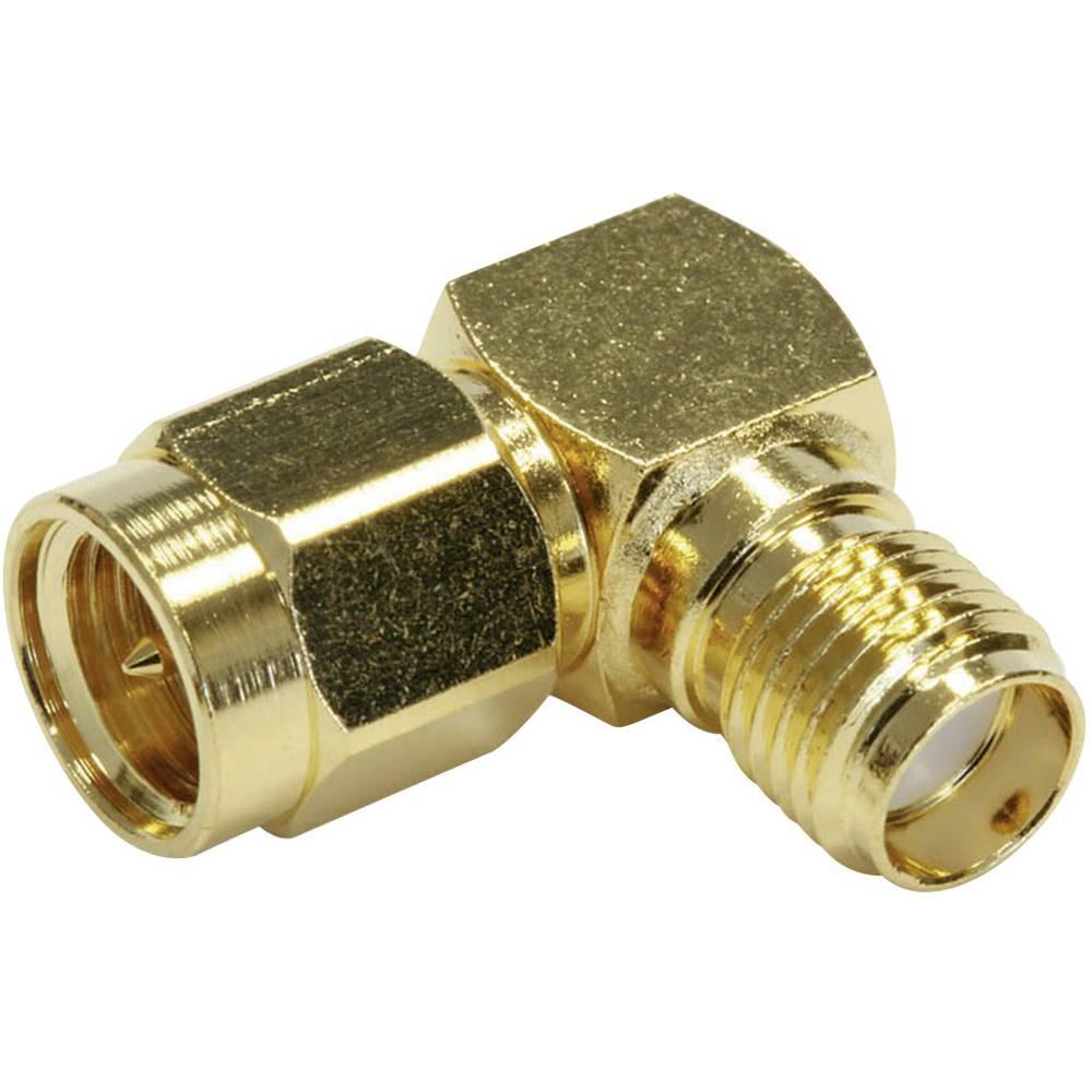 SMBA-adapter SMA-stik - SMA-tilslutning Telegärtner J01154A0021 1 stk