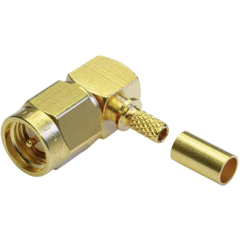 SMA-stikforbindelse Telegärtner J01150A0071 50 Ohm Stik, vinklet 1 stk