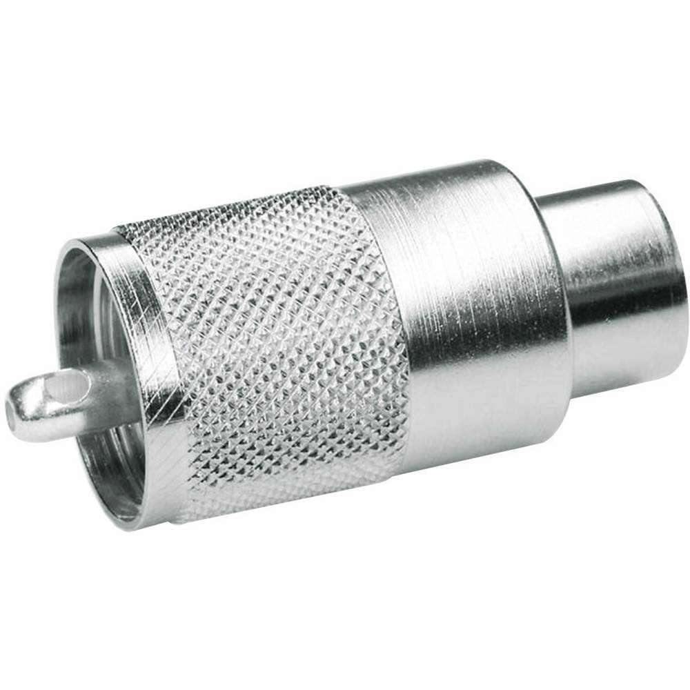 UHF-stikforbindelse Telegärtner J01040B0604 50 Ohm Stik, lige 1 stk