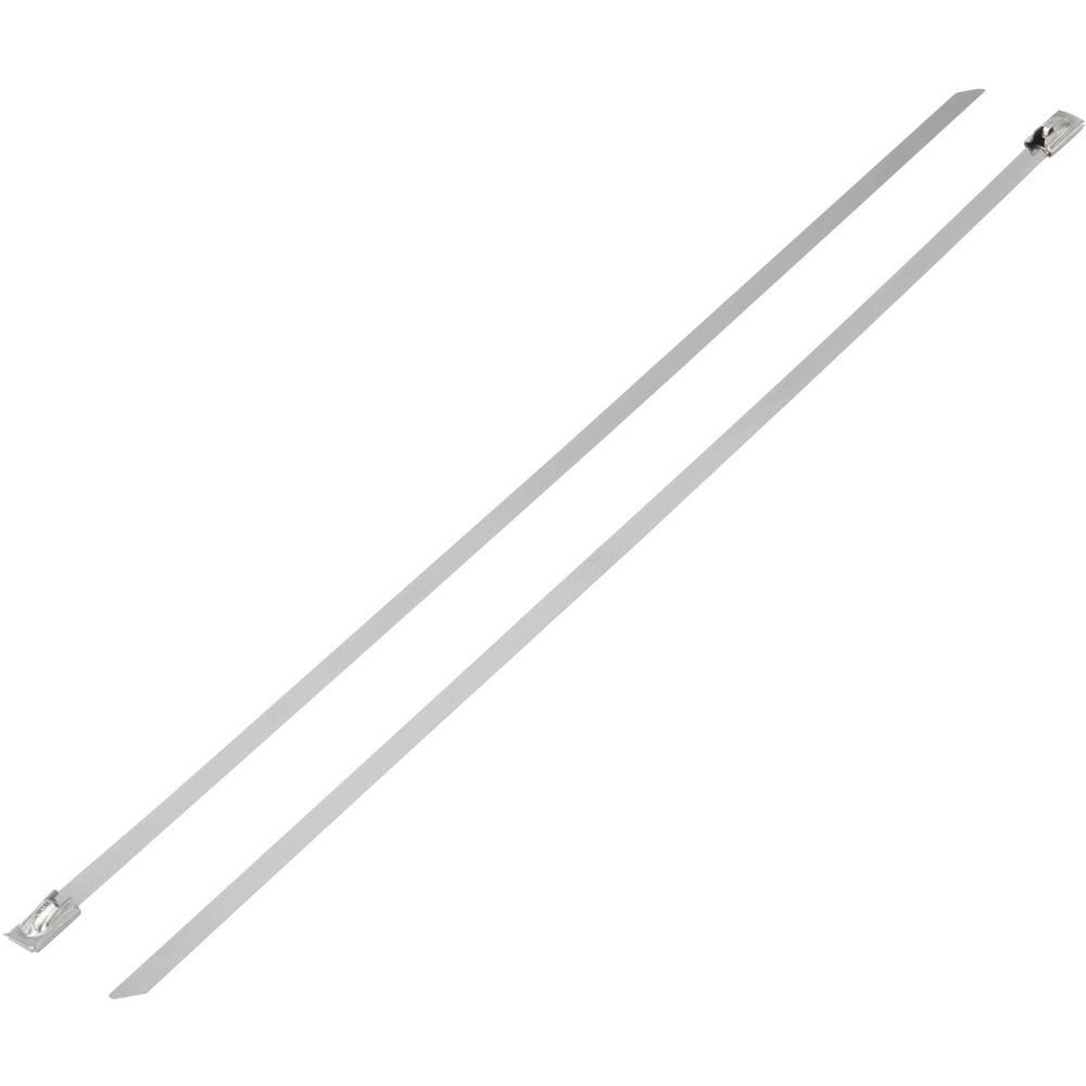 Kabelske vezice 152 mm srebrne barve KSS BST-152 1 kos