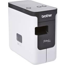 Tiskalnik nalepk Brother P-touch 700 primeren za trak TZ HSE 3,5 mm, 6 mm, 9 mm... PTP700ZG1