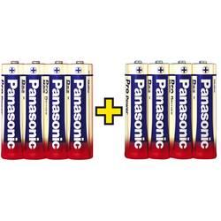 Mignon baterija (AA) alkalno-manganova Panasonic Pro Power 4+4 gratis 1.5 V 8 kosov