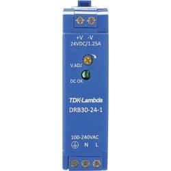 Napajalnik za namestitev na vodila (DIN letev) TDK-Lambda DRB-30-24-1 28 V/DC 1.25 A 30 W 1 x