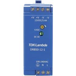 Napajalnik za namestitev na vodila (DIN letev) TDK-Lambda DRB-50-12-1 15 V/DC 4.2 A 50.4 W 1 x