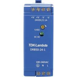 Napajalnik za namestitev na vodila (DIN letev) TDK-Lambda DRB-50-24-1 28 V/DC 2.1 A 50.4 W 1 x