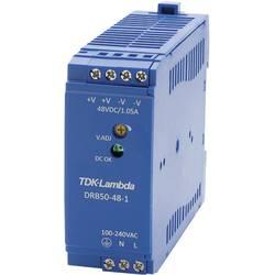 Napajalnik za namestitev na vodila (DIN letev) TDK-Lambda DRB-50-48-1 52.8 V/DC 1.05 A 50.4 W 1 x