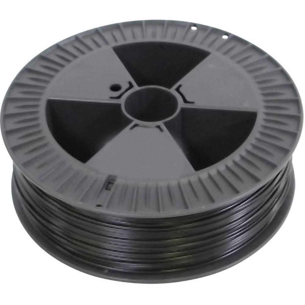 nitka iz umetne mase za 3D tiskalnik RepRap 100313 PLA plastika, prozorna 3 mm 750 g German RepRap