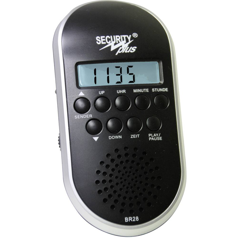 Security Plus UKW radio za bicikl BR 28 MP3/USB CM 4.1 blackline crni