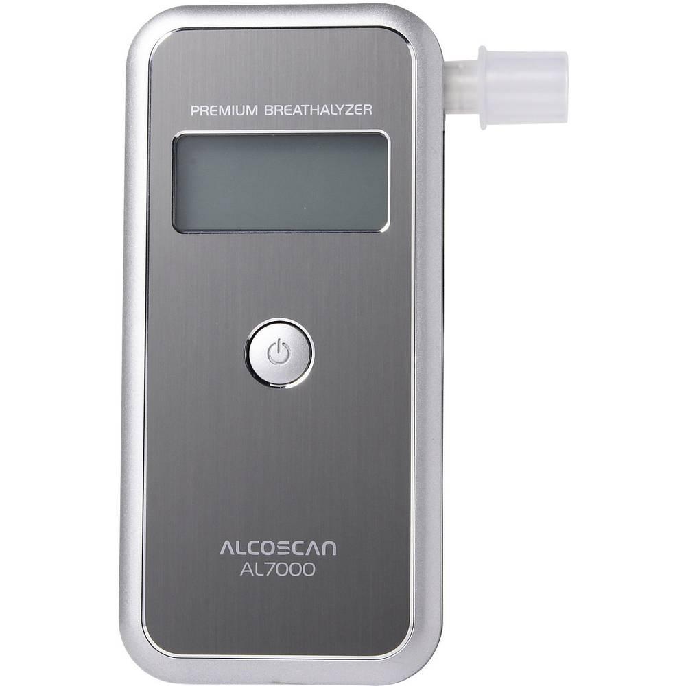 Alkotester ACE AL7000 Silber merilno območje alkohola (maks.)=4 ‰ nadomestljiv senzor, vklj. zaslon