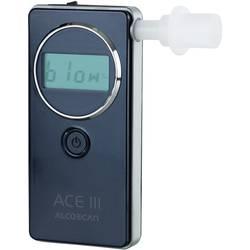 Alkotester ACE III Basic merilno območje alkohola (maks.)=5 ‰ vklj. zaslon