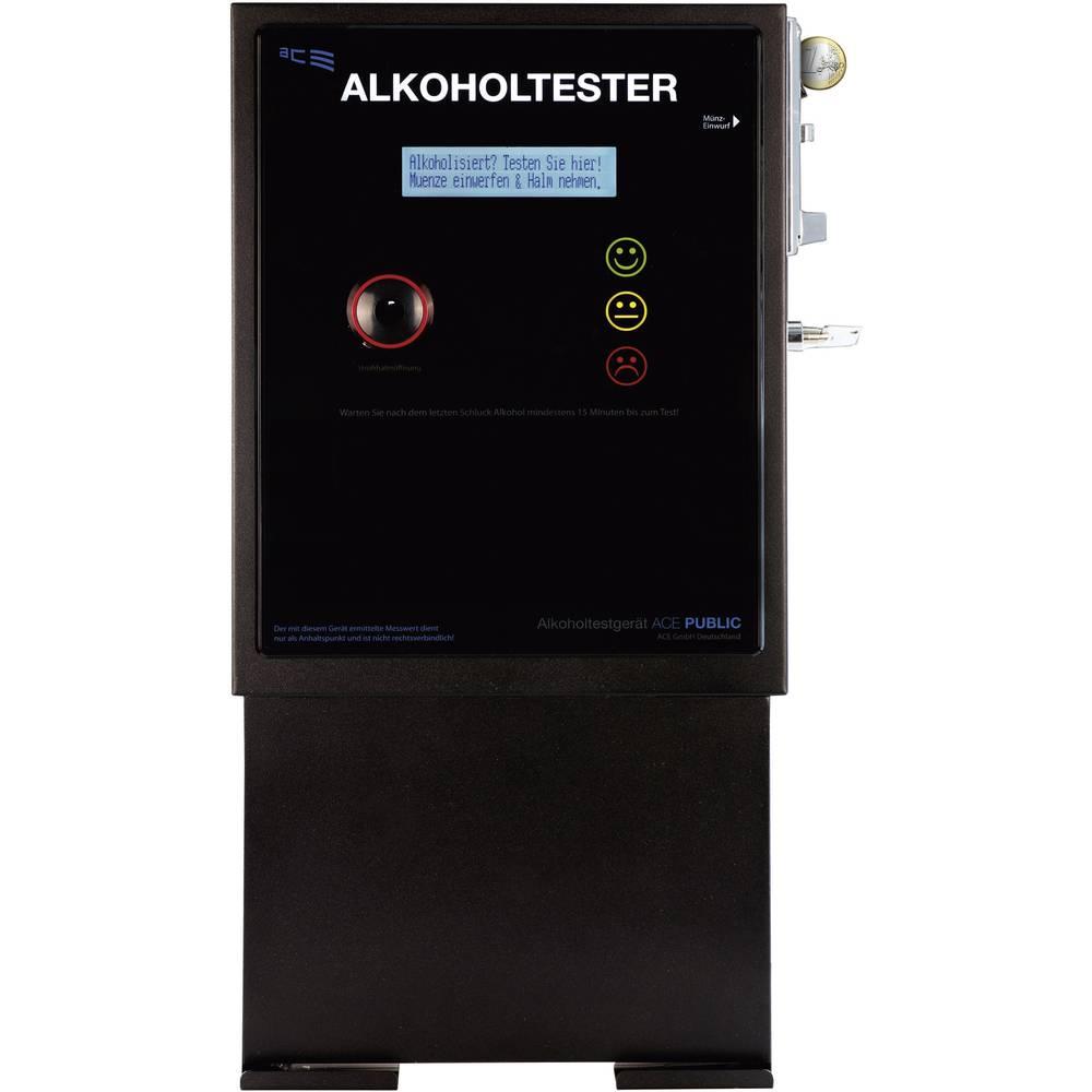 Alkotester ACE Public, merilno območje alkohola (max.)=5 ‰, stenska montaža, vključno z zaslonom