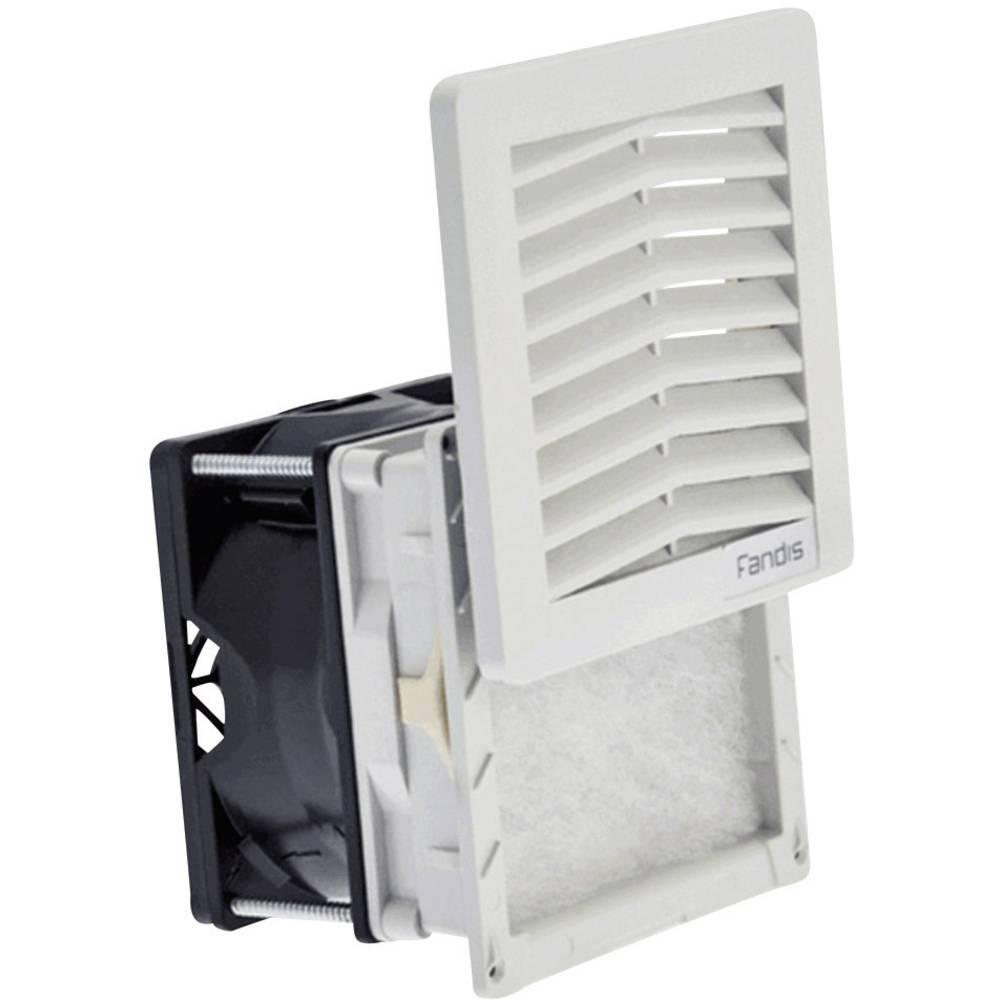 Ventilator s filterom Fandis FF08GA230UF (Š x V x D) 106.5 x 106.5 x 72.8 mm 230 V/50 - 60 Hz 12/11 W
