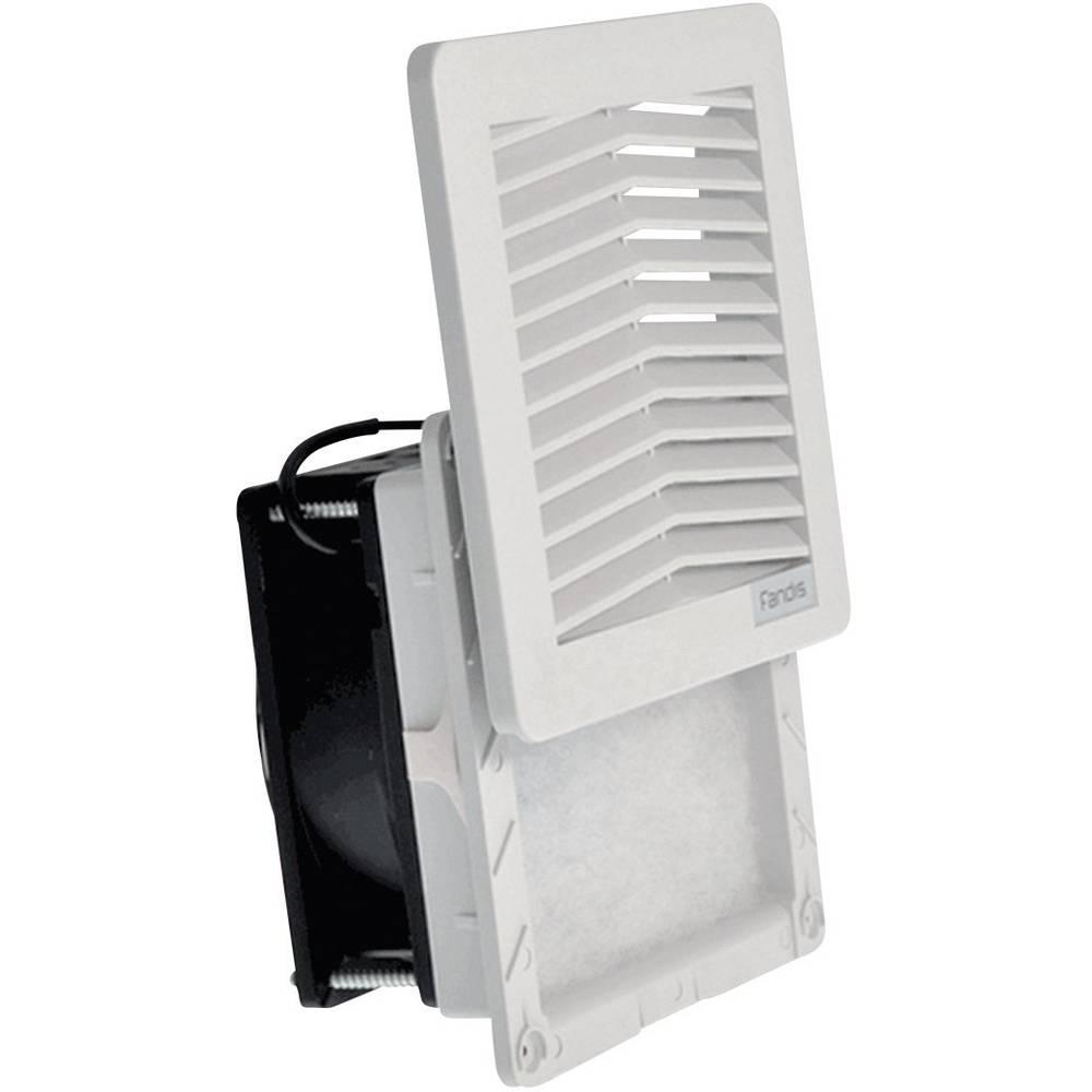 Ventilator s filterom Fandis FF12A230UN (Š x V x D) 150 x 150 x 65.5 mm 230 V/50 - 60 Hz 18/16 W
