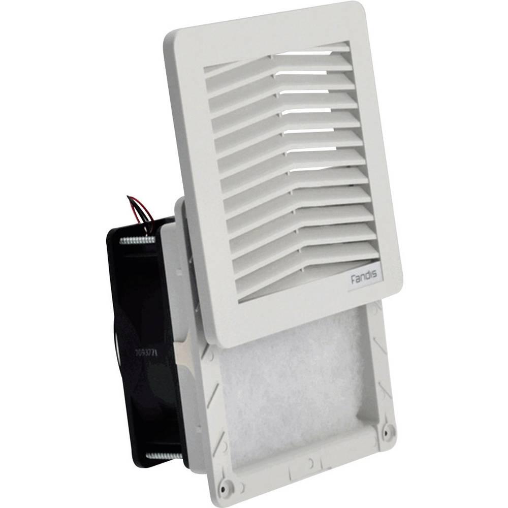 Ventilatorer til kontaktskabe FF12D24UN Fandis 24 V/DC 7.4 W (B x H x T) 150 x 150 x 65.3 mm