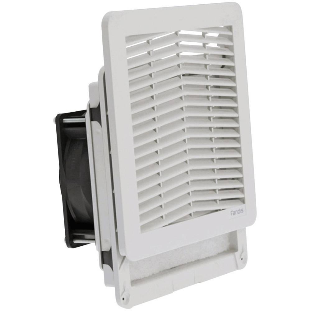 Ventilator s filterom Fandis FF13PD24UN (Š x V x D) 203.9 x 203.9 x 87.3 mm 24 V/DC 8.2 W