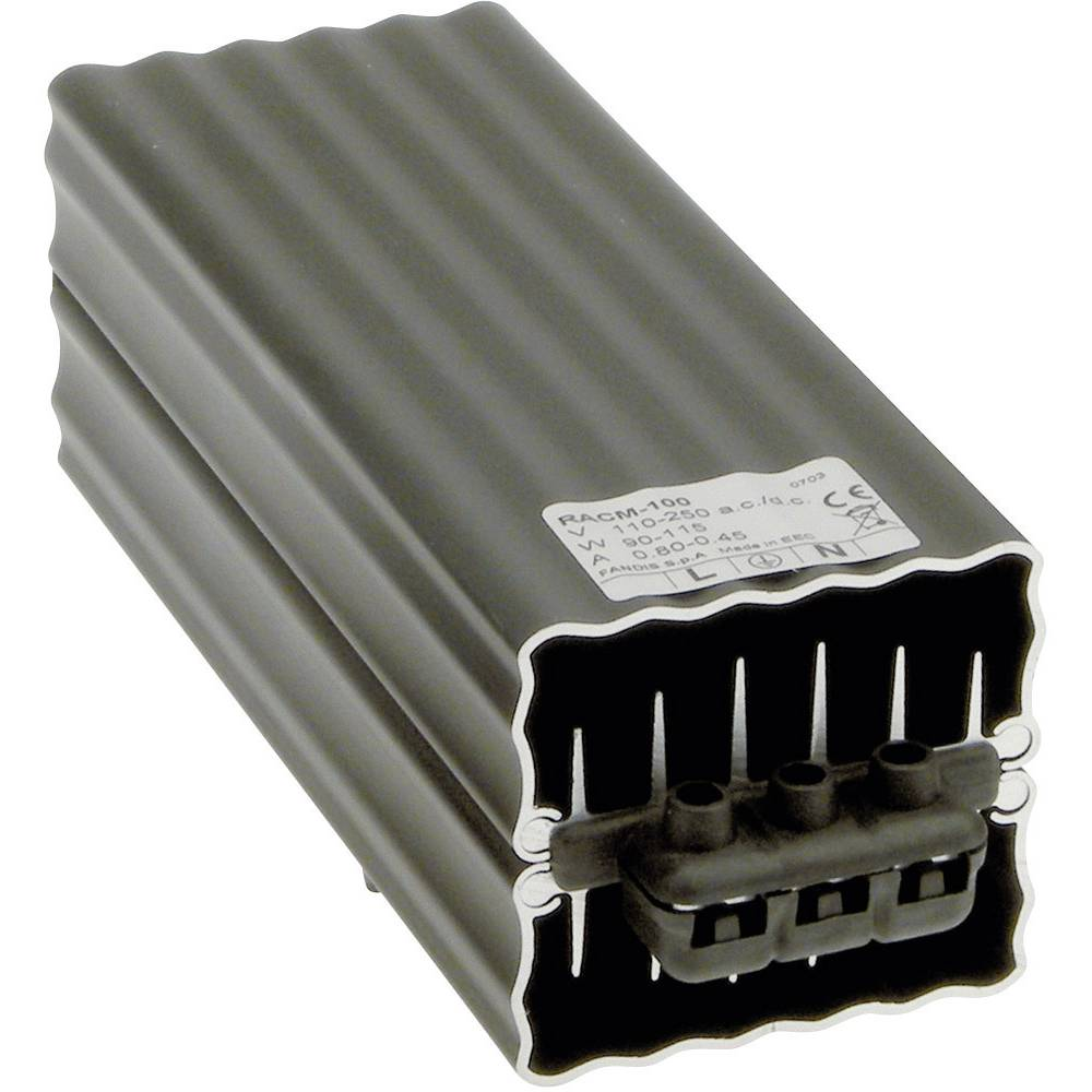 Grijač sklopnog ormara Fandis RACM-100 110 - 250 V DC/AC 100 W (D x Š x V) 167 x 61 x 64 mm