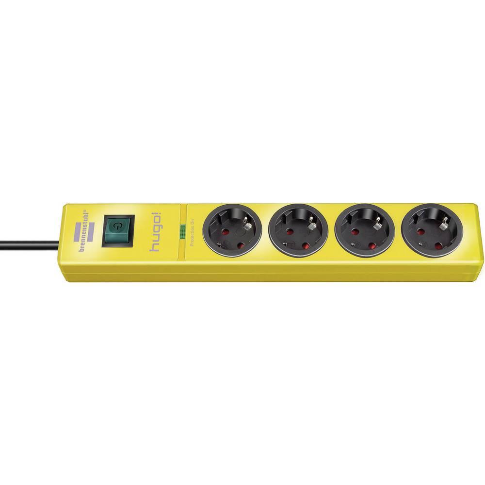 Višestruka utičnica sa zaštitom od prenapajanja 4-struka žuta šuko 1150610364 Brennenstuhl