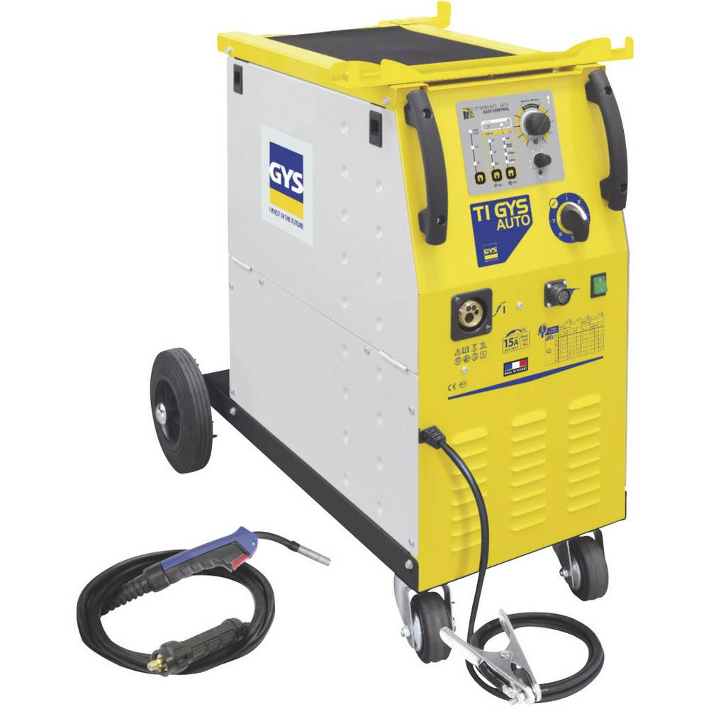 GYS trofazni uređaj za varenje sa zaštitnim plinom T1 GYS AUTO 032910 napon 400 V struja varenja 15 - 205 A