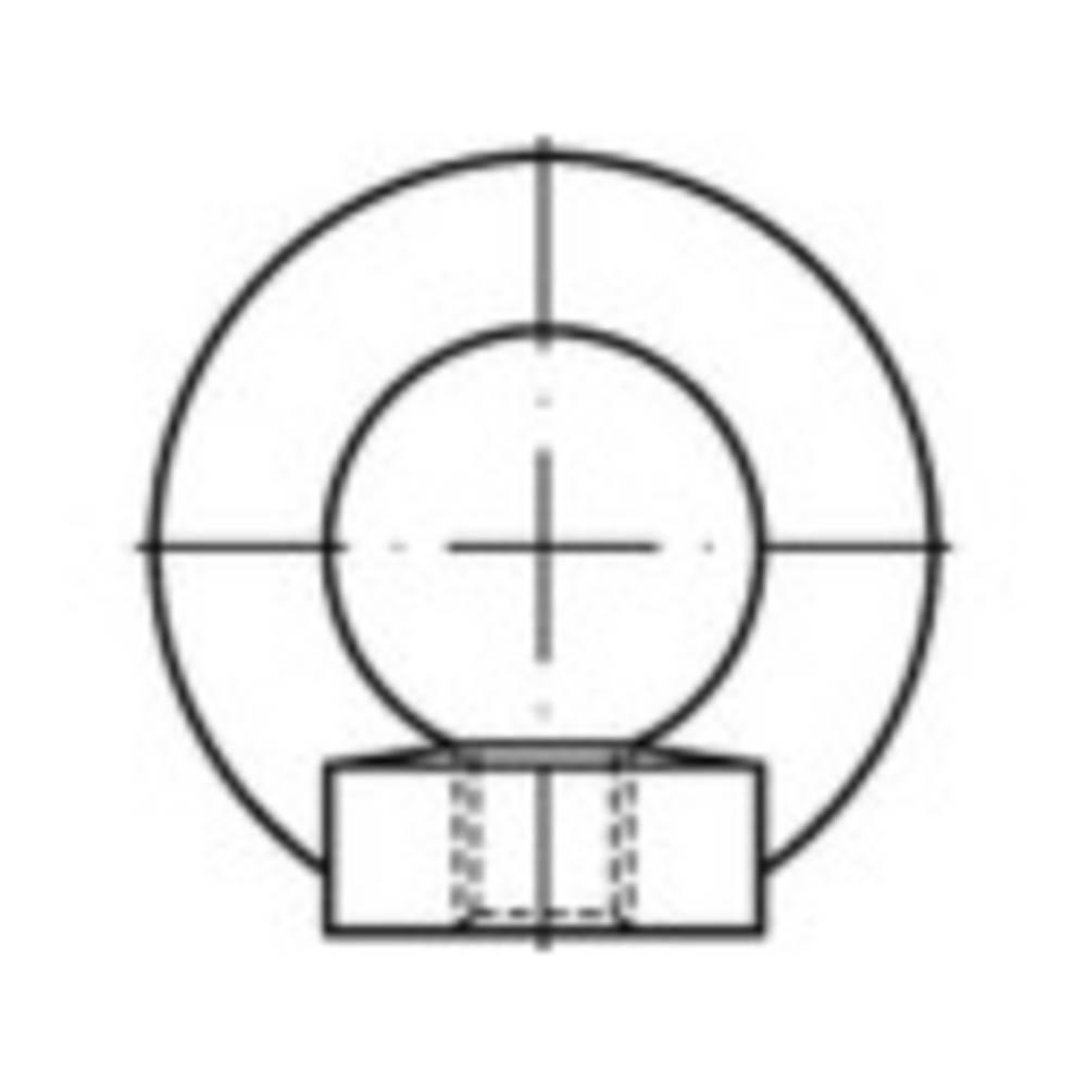 Prsten matica M8 DIN 582 nehrđajući čelik A2 1 kom.